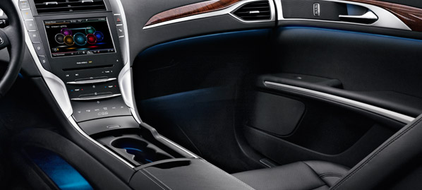 Lincoln MKZ ambient light Raleigh